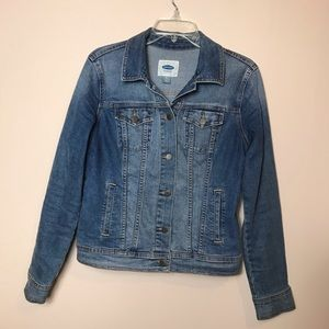 Old Navy Jean Denim Jacket, Blue, Size Medium